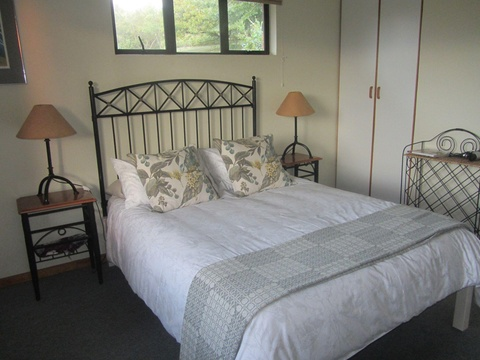 Main bedroom in The Carraighs, The Crags self-catering accommodation