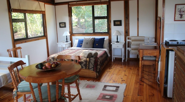 Treehouse Cottage bedroom
