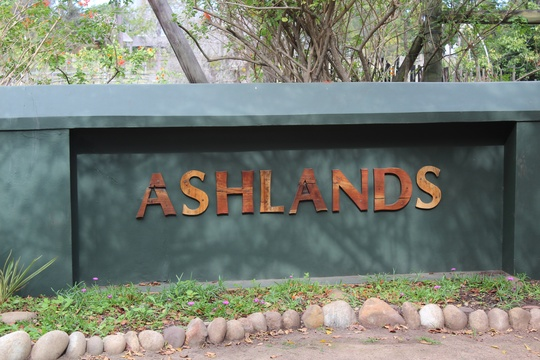 Entrance to Ashlands Estate and Treehouse Cottage